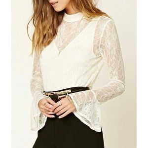 Forever21 lave blouse—NEW WITH TAGS!